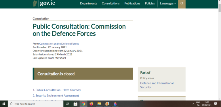 Commission on the Defence Forces